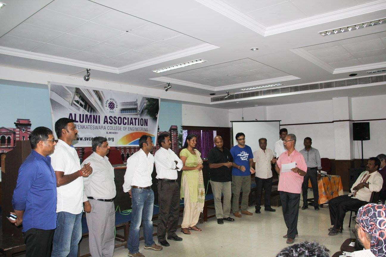 AGM-Elected Office Bearers- Introduced by Prof. Lakshminarayanan