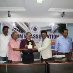 AGM-Presenting Memento to  Principal by Gokul