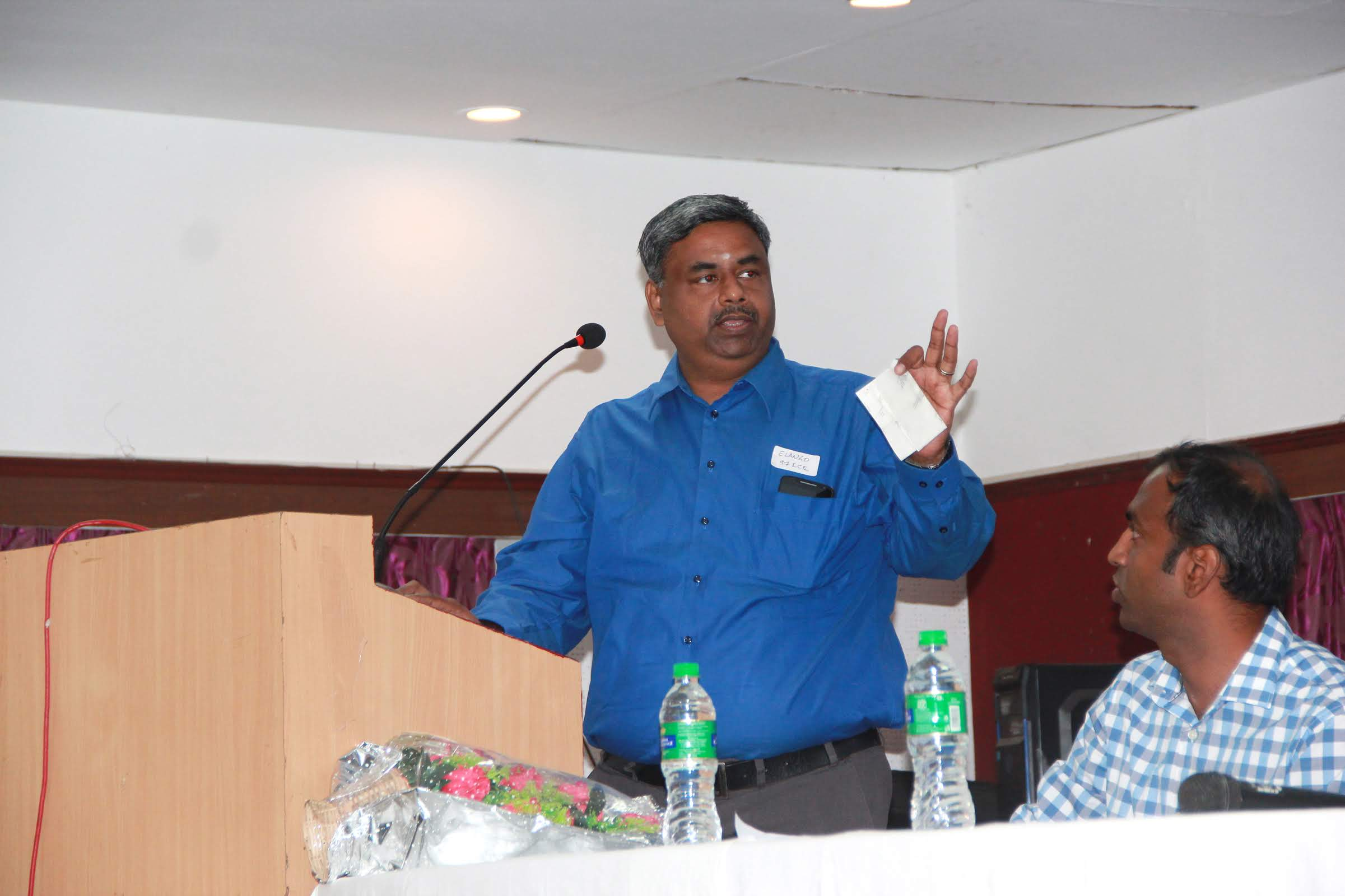Address - M Elango, Vice President