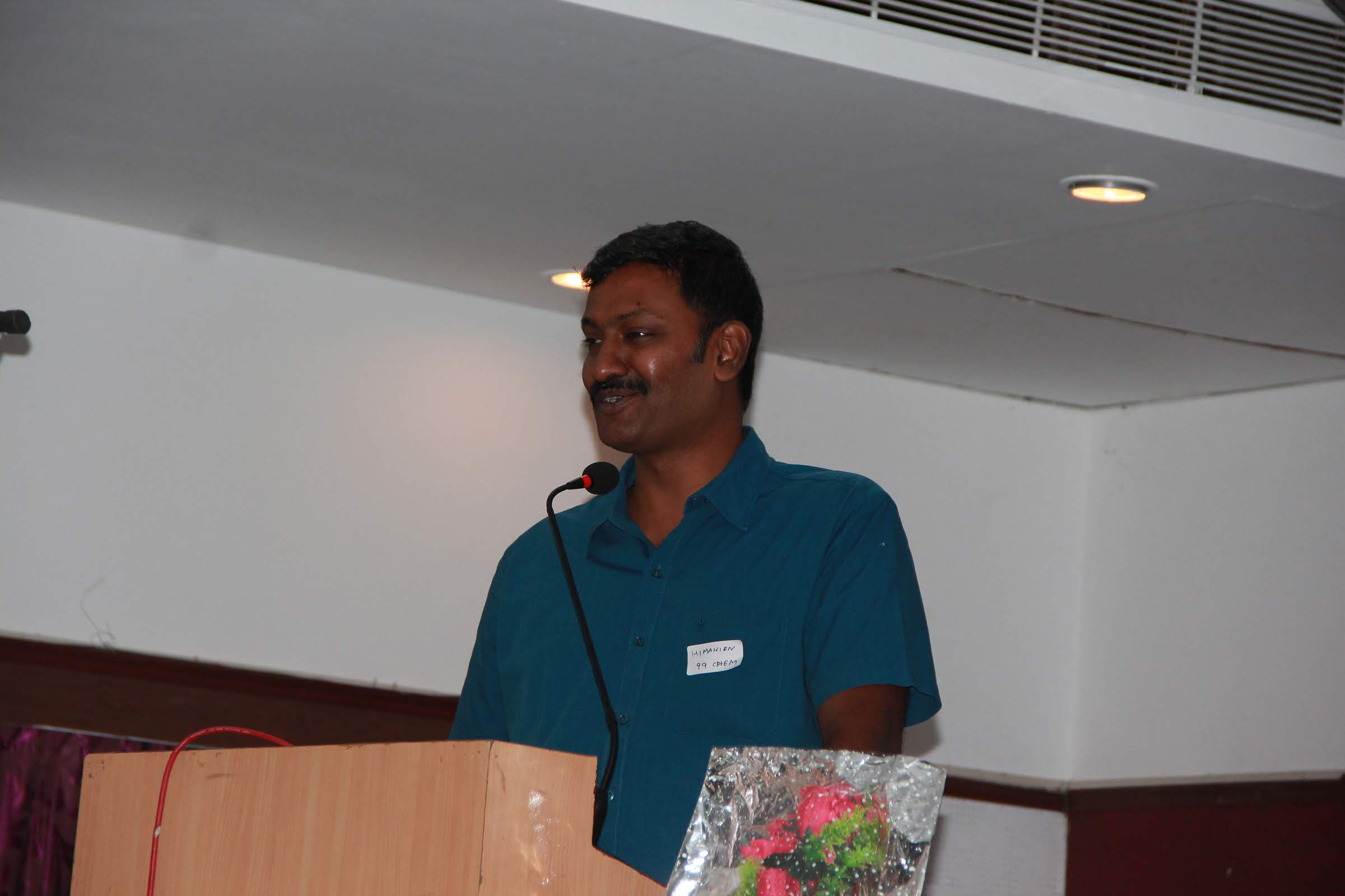 Address -President Mr Hima Kiran