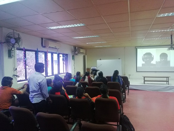 Bio-Tech : Mr.Tarun & Mr Prasanna from USA -  on Video Call